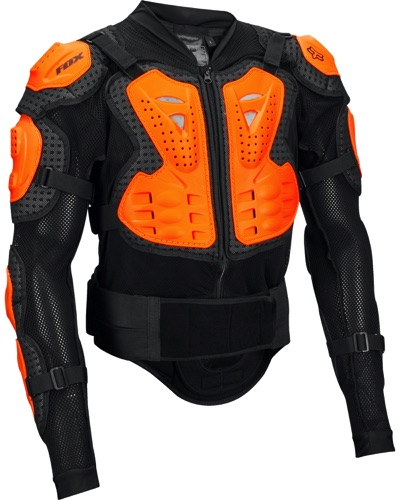 FOX  Titan sport NOIR ORANGE