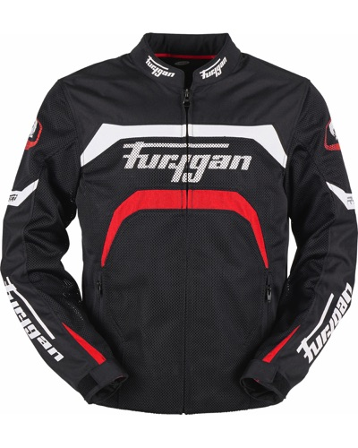 FURYGAN  Blouson Arrow Vented N-B-ROUGE