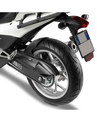 M/étal Garde-Boue Arri/ère De Moto Et Le Support C/ôt/é Couvercle De Protection pour Harley Sportster 883 1200 Forty Eight Bobber Chopper Glossy Black Rear Fender