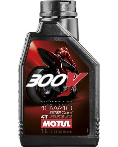 MOTUL 300V FL ROAD RACING 4T 10W40 1 litre