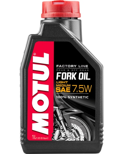 MOTUL Fourche Factory 7.5W Light/Medium 1 litre