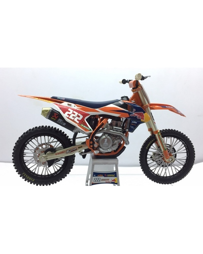 NEW RAY TOYS 1/12 KTM Red Bull SX-F 450 2017 A.Cairoli N°222
