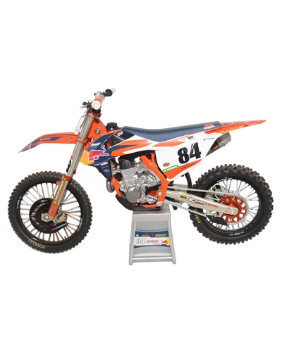 NEW RAY TOYS 1/12 KTM Red Bull SX-F 450 2017 J.Herling N°84