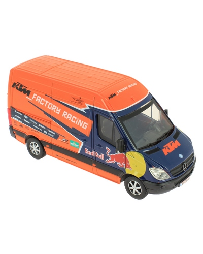 NEW RAY TOYS  1/38 Mercedes Van KTM Red Bull Factory 2014