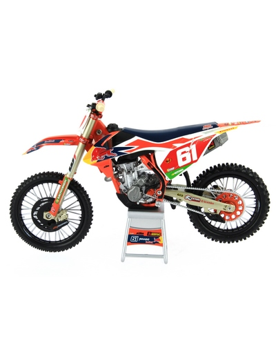 NEW RAY TOYS  1/12 KTM RED BULL SX-F250 2019 J.Prado N°61