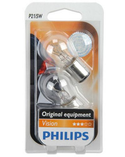 PHILIPS Ampoule de Signalisation - P21/5W - VISION - 12V - PHILIPS