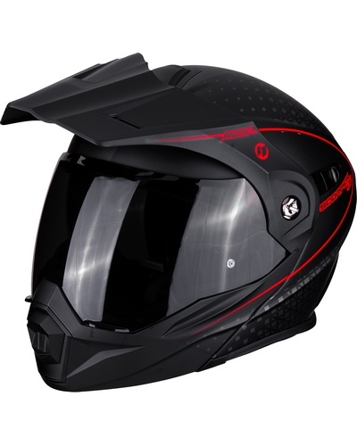 SCORPION EXO  ADX-1 Horizon noir-rouge