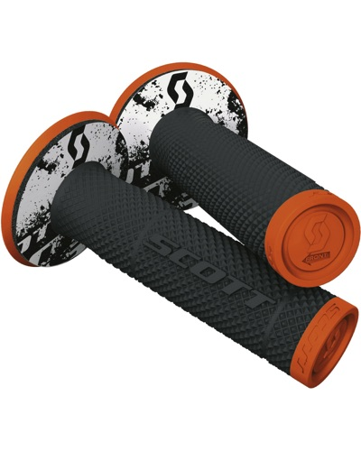 SCOTT  Grip SX II + Donut orange fluo