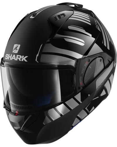 SHARK  Evo One 2 Lithion Dual N-argent
