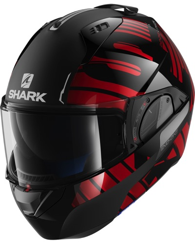 SHARK  Evo One 2 Lithion Dual noir-rouge