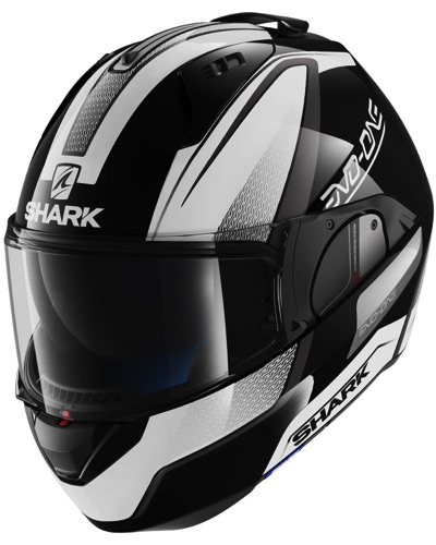 SHARK  Evo One Astor NOIR-BLANC