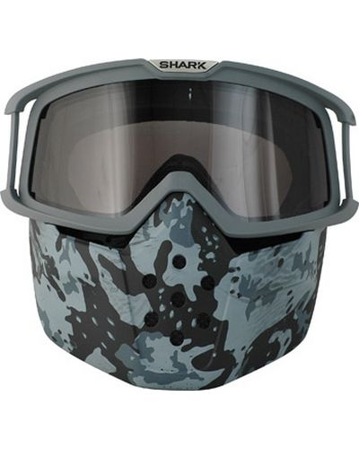 SHARK  Mask Raw seul gris Camo