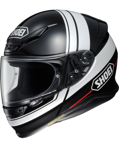 SHOEI NXR Philosopher noir-blanc