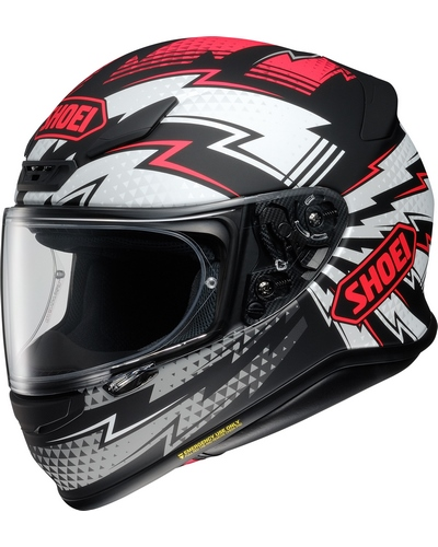 SHOEI NXR Variable noir-rouge