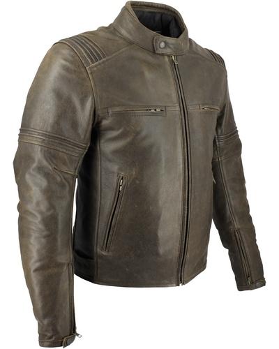Blouson cuir moto vintage furygan