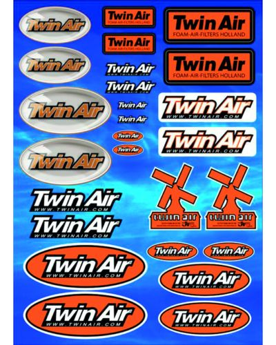 TWIN AIR Planche d'autocollants TWIN AIR 2014