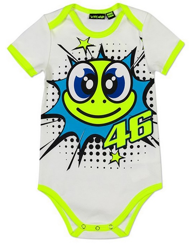 VR46  body Pop Art VR46 blanc