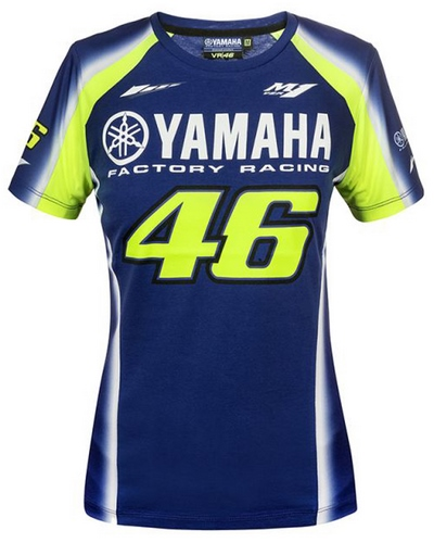 VR46 Racing Yamaha-VR46 lady BLEU
