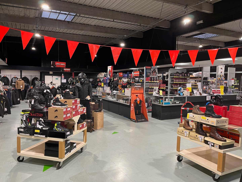 Magasin d'accessoire moto à pontault combault